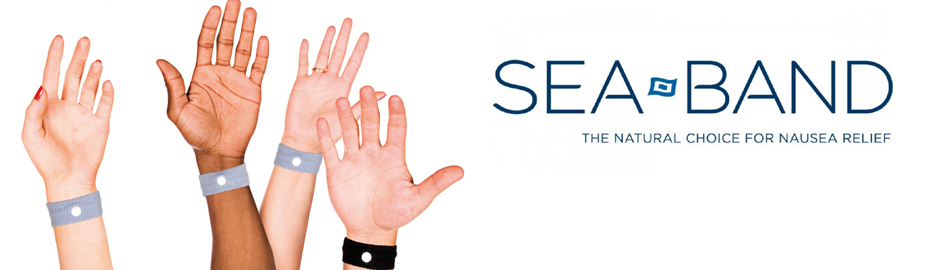 Sea Band bracelets anti nausees chimio