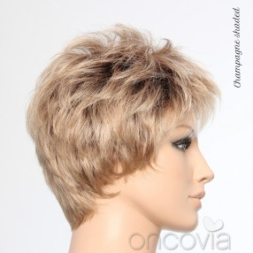 Perruque courte Cool Look Semi-Monofilament**