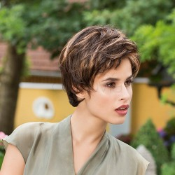 Short Wig Lace Front - Tama - Monofilament****