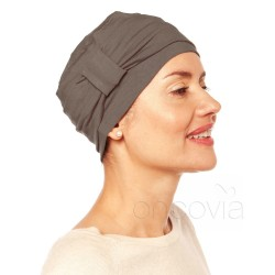 Turbante Chemio Edith - Grigio scuro