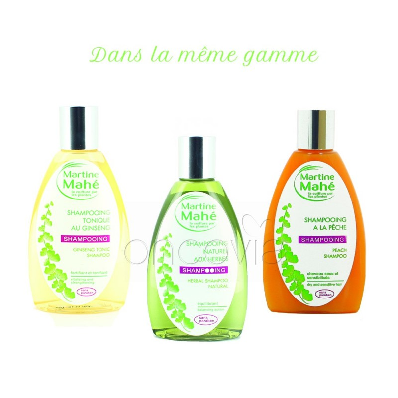 martine mah shampoing naturel aux herbes 200ml - Coloration Martine Mah