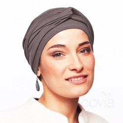 Estelle Chemo Winter Head Scarf - Cocoa