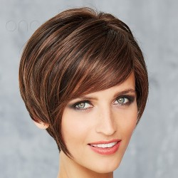 Short Wig Front Lace - Cosmo Cool - Mono Crown**