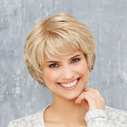 Short Wig Lace Front - Cosmo Look - Mono-parting***
