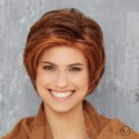 Short Wig Lace Front - Cosmo Kelly - Mono-Crown**