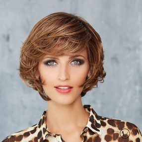 Mid-length Lace Front Wig - Cosmo New York - Mono-Parting***