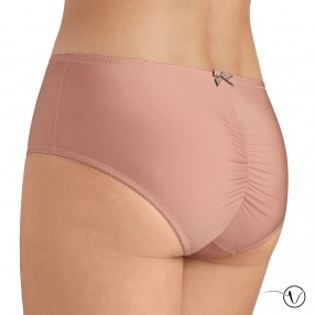 Sandy Hipster High Brief - Pink & Taupe