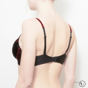 Mastectomy Bra - Removable Underwire - for large busts