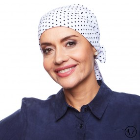 Carmen Pre-Fitted Chemo Head Scarf - Chic