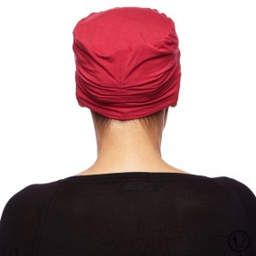 Louise Bamboo Night Cap - Red