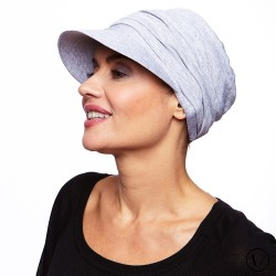 Dorothee Cotton Chemo Hat - Grey