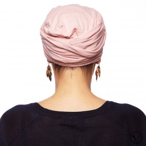 Céline Pleated Chemo Cap - Light Pink