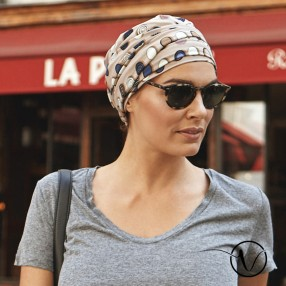 Amelie Pre-Formed Head Scarf - Tanger