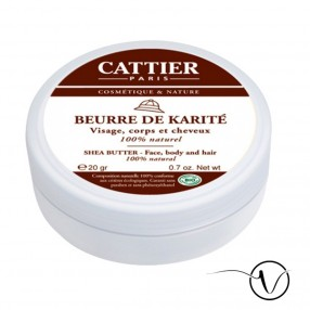 Beurre de karité 100% naturel BIO - mini-pot 20 g