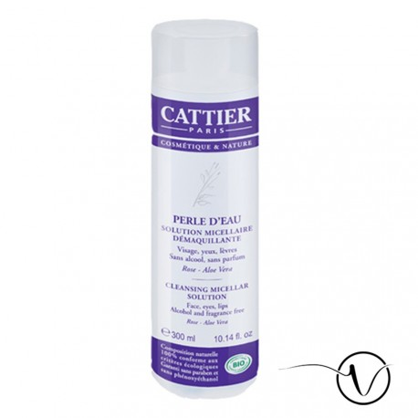 Cattier Solution micellaire démaquillante BIO - 300 ml