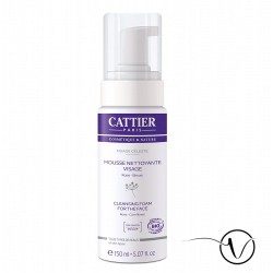 Cattier - Mousse nettoyante visage - 150ml