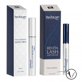 Pack Cils et Mascara : 1 Revitalash 3 mois + 1 Mascara Marron Espresso by Revitalash