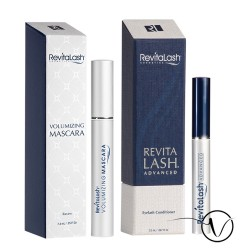 Pack Cils et Mascara : 1 Revitalash 3 mois + 1 Mascara Noir Raven by Revitalash