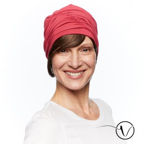 Fanny – Bamboo Raspberry Red Chemo Cap