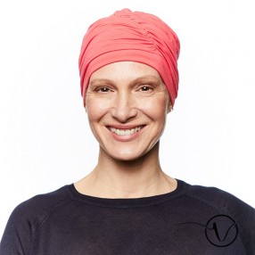 Fanny Bamboo Chemo Cap - Coral