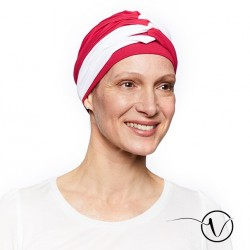 Amelia Chemo Cap - Red and White