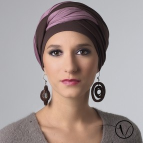 Long-tie Bamboo Chemo Head Scarf - Leslie