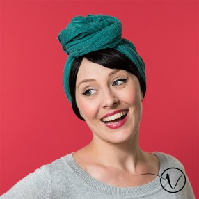 Turban chimio les Franjynes - Madame Green