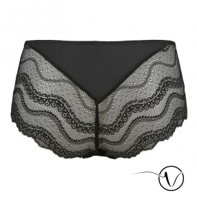 Lace Shorty Brief Lise - Black - Garance