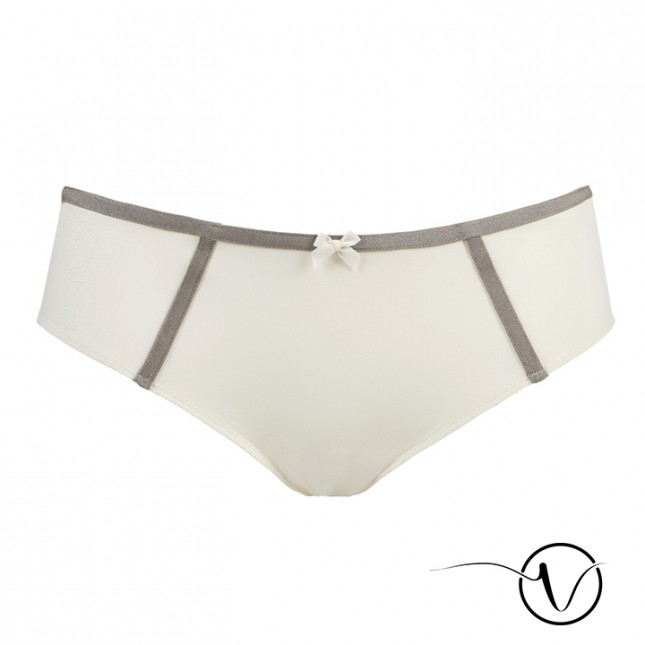 Jeanne Shorty Brief - Ivory - Garance