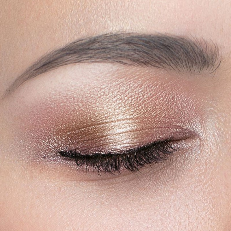 Couleur Caramel Organic Eye Shadow Bronze Chocolate N