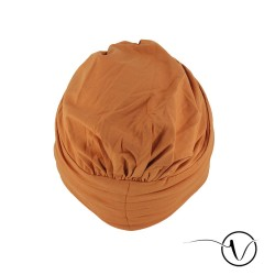 Bonnet chimio Bambou Milena - Orange
