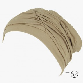 Fanny Bamboo Chemo Cap - Beige