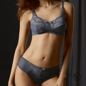 Aurelie Mastectomy Bra - Bordeaux