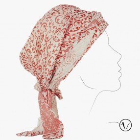 Saree Chemo Head Scarf - Lily of the valley