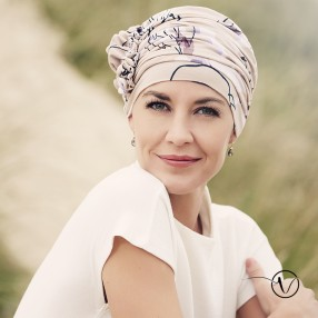 Turban Lotus en bambou - Flower spirit Christine