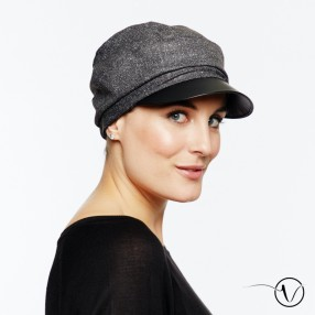 Winter Chemo Cap Adèle - Grey
