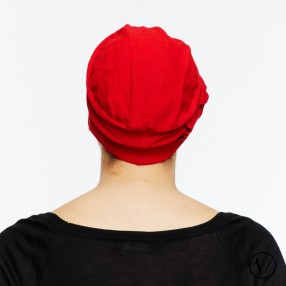 Chemo cap Léonie - Red - exclusif