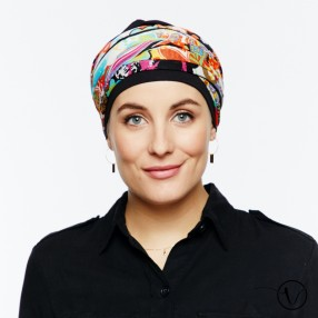 Turbante chemio nero Messico