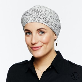 Amelie Pre-Formed Head Scarf - Corfou