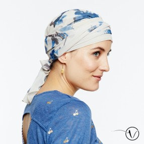 Amelie Pre-Formed Head Scarf - Emma
