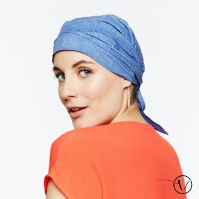 Estelle Chemo Head Scarf with Long Ties – Jeans