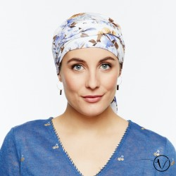 Estelle Bamboo Chemo Head Scarf with Long Ties – Grasse