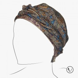 Chemo Head Scarf - Saree Feather
