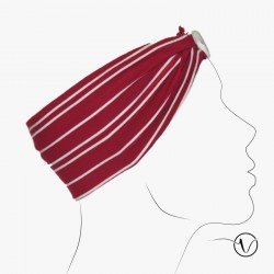 Bandeau Bouton - Marin Rouge