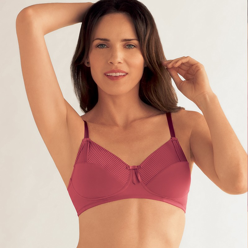 fashion styles limited guantity top quality Milla Wireless Mastectomy Bra - Light pink - Amoena | Oncovia