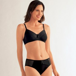 Milla Wireless Mastectomy Bra - Black - Amoena
