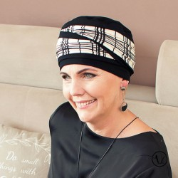 Turban chimio Laura Check