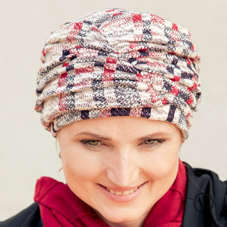 Chemo turban lined with cotton Fanny - Kiev