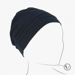 Chemo cap Pascale - Blue Marine