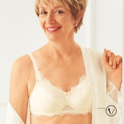 Padded Mastectomy Bra Aurélie Off-white